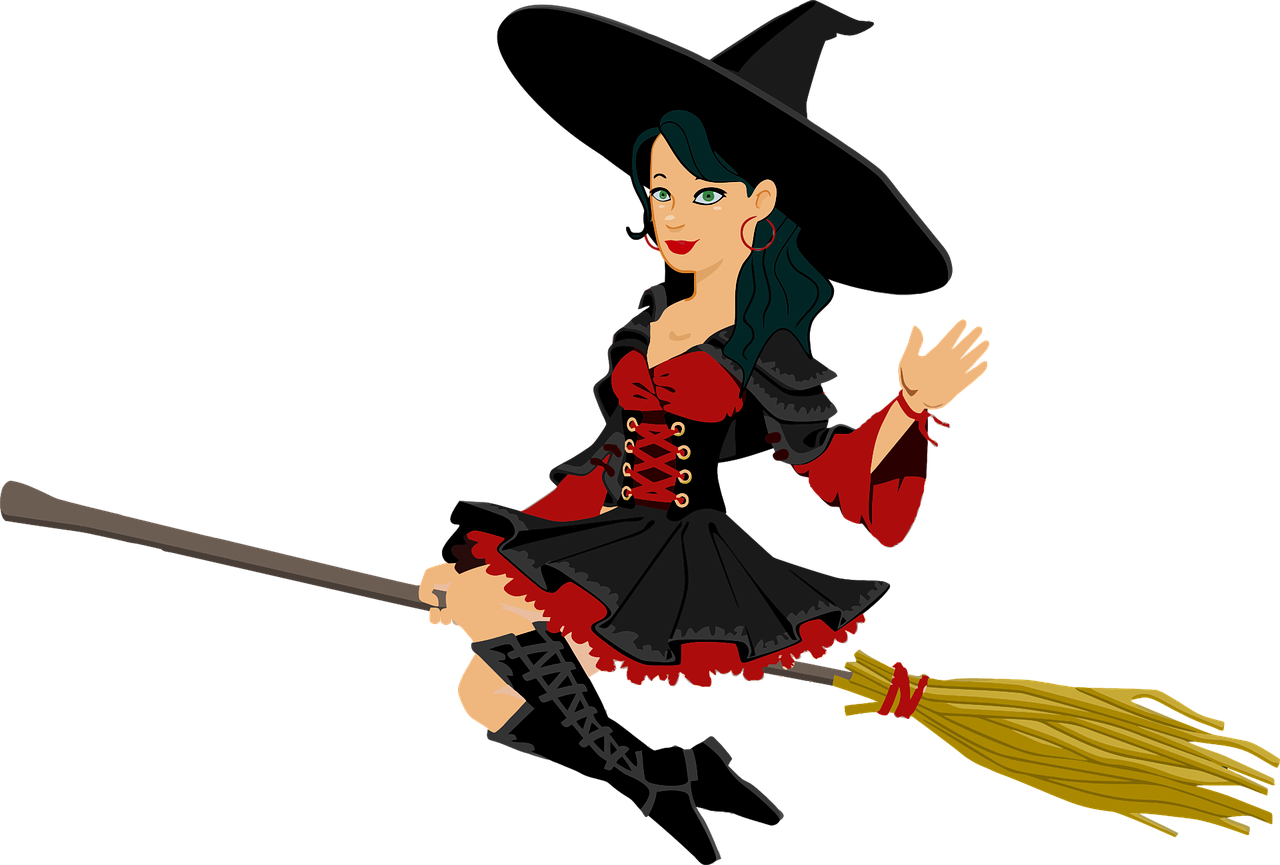 broomstick, female, fictional-1297877.jpg